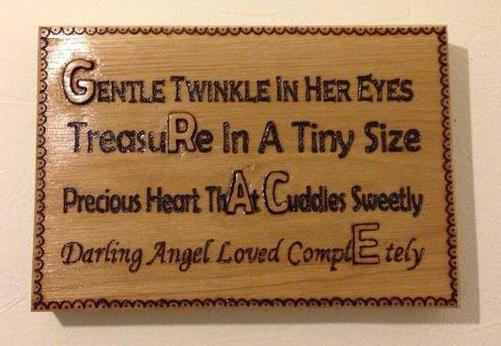 Grace Pyrography  Wall Plaques - Pyrography by Artist Justin Beck