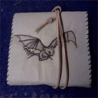 Toothless Leather Notepad